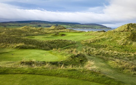 Machrihanish Dunes Golf Club : Machrihanish Dunes 14th Hole