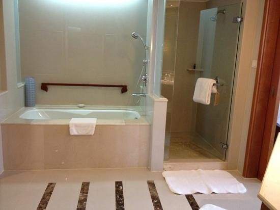 โรงแรมดุสิตธานี กรุงเทพ: バスルーム