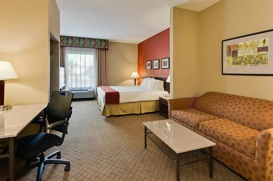 Holiday Inn Express Hotel & Suites Tampa Northwest - Oldsmar: King Suite with Sofa Sleeper, Fridge and Microwave