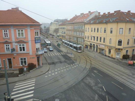 Best Western Plus Amedia Graz: panorama dalla stanza