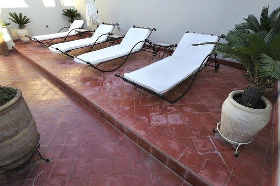 Riad Mirage: terrasse