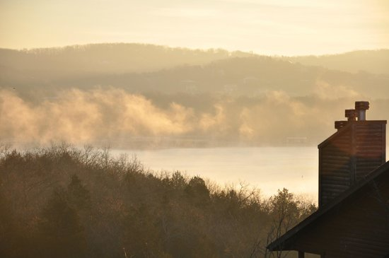 Village At Indian Point: Winter Morning on the Lake