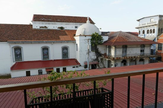 Casa del Horno: View from the Living room balcony