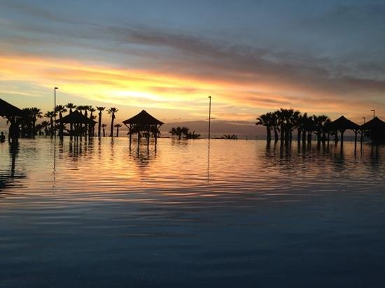 Gran Melia Palacio de Isora Resort & Spa: sunset december 30th