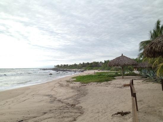 La Casa del Faro: playa