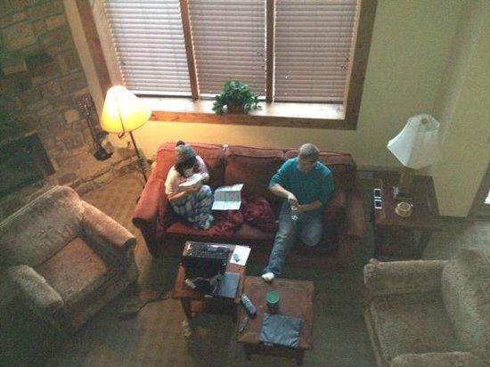 Highlands at Sugar: Living room