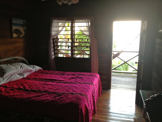 Itza Lodge: my room