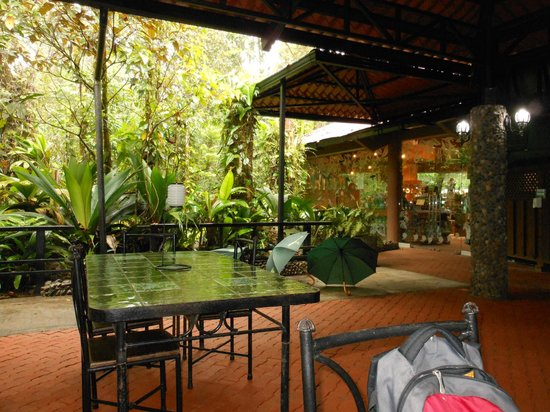 Parque Nacional Braulio Carrillo: Restaurant within park