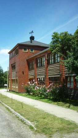 Hosteria Rio Grande : Lateral exterior