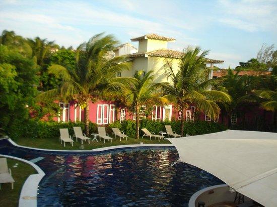 Hospedaria Entre Amigos: Daytime view of pool