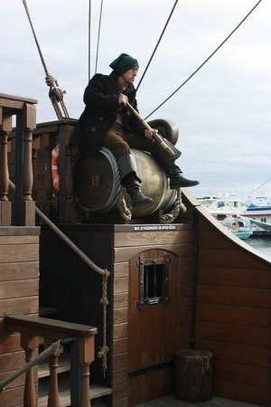 Pirate Ship Adventures: One of the pirates.