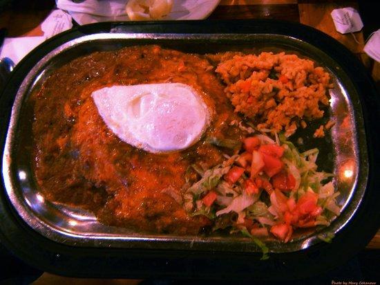 Francisco's Restaurante : Enchiladas Rancheros