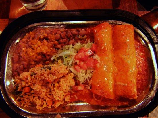Francisco's Restaurante : Enchiladas de Pollo