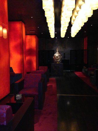 Buddha-Bar Hotel Budapest Klotild Palace: bar du buddha hotel restaurant