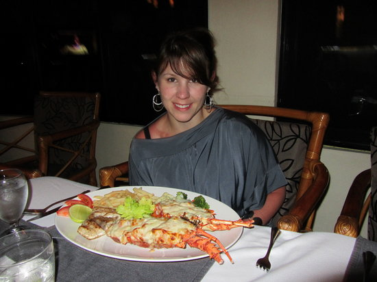 Panama Big Game Fishing Club: Lobster for Dinner