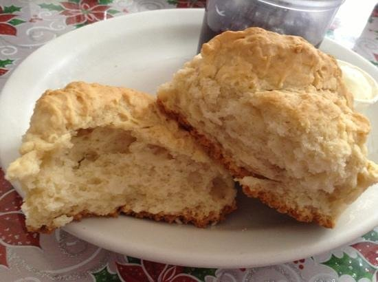 Old Town Cafe: biscuit; could be fluffier