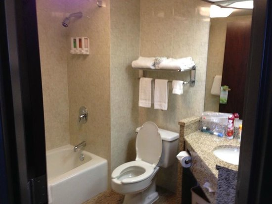 Drury Inn & Suites Detroit Troy: Bathroom, tub with shampoo dispenser