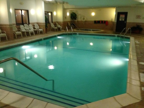 Drury Inn & Suites Detroit Troy: Heated pool