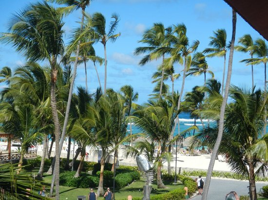 Majestic Colonial Punta Cana: View from our room - the beach