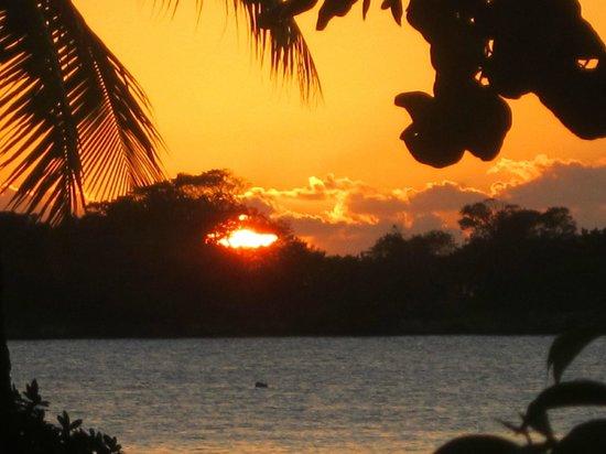 Hotel Riu Palace Tropical Bay: Sunset.