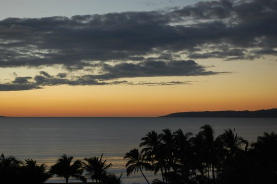 Marival Residences Luxury Resort Nuevo Vallarta: Sunset view from balcony