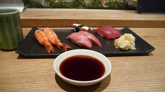 Sushi Kyotatsu: Nigiri