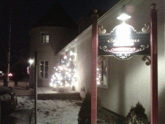 Chute-aux-Outardes, Canada: gite en hivers