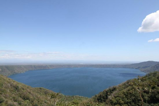 San Simian Eco Lodge: Laguna de Apoyo