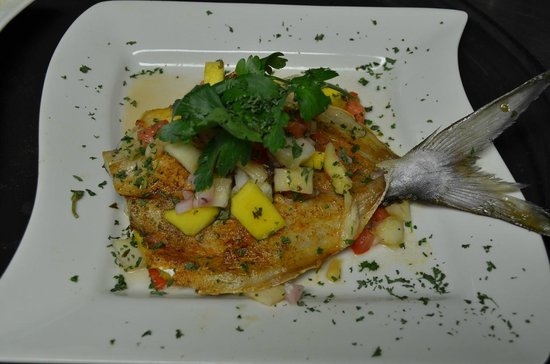 Lighthouse Point, Flórida: Broiled Pompano
