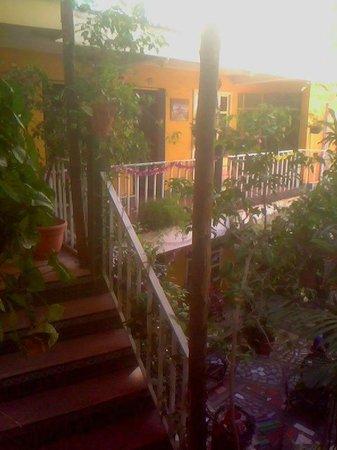 Villa Lupita: el segundo nivel.