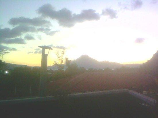 Villa Lupita: vista desde la terraza del hotel
