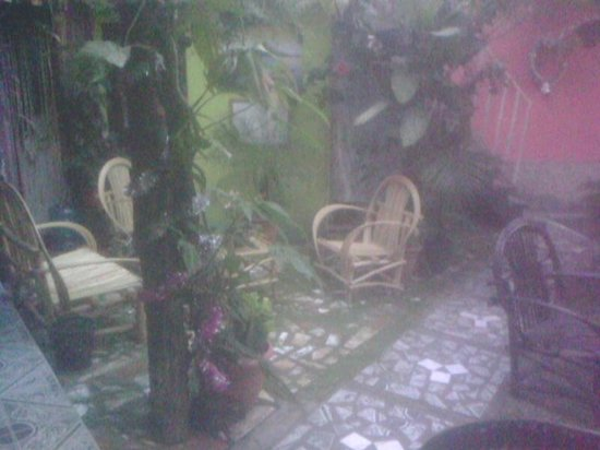 Villa Lupita: los jardines