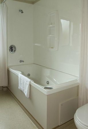 Bella Vista Motel Kaikoura: Superior King studio spa bath