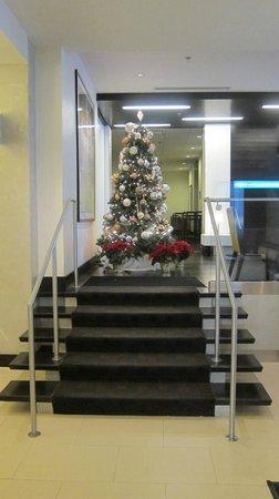 Hyatt Centric Arlington: Beautiful Christmas tree in the lobby