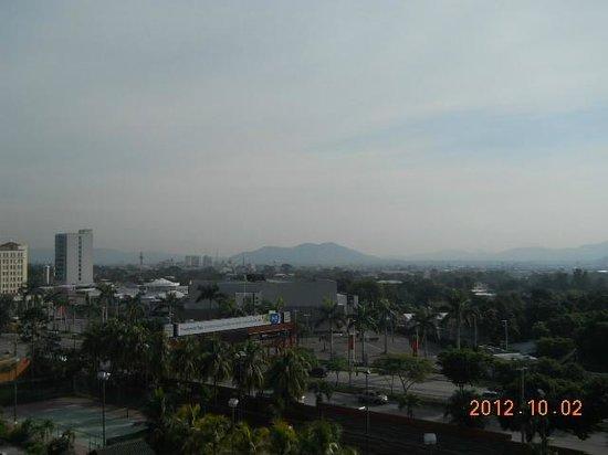 Copantl Hotel & Convention Center: vista de la habitacion