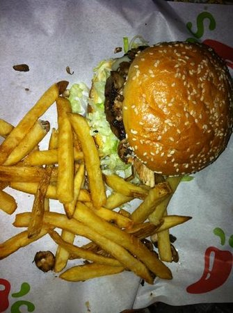 Chili's Grill & Bar: hamburger