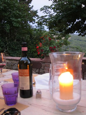 Fattoria Tregole: Dinner table, Tregole