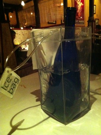 Bistro 412: Bottle water in a bag