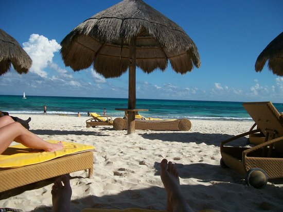 Iberostar Grand Hotel Paraiso: The Grand's private beach