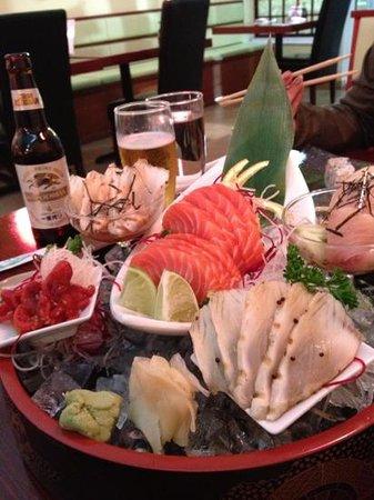 Thai Fuku: sashimi deluxe !!