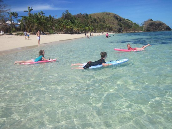 Mana Island Resort: Kids on Christmas Day
