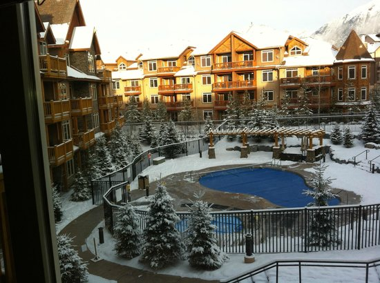 Stoneridge Mountain Resort by CLIQUE: This is the view from our room. You feel yourself unwind just looking out your window