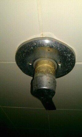 Twin Bay Resort : shower..