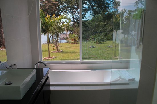 Hotel Bocas del Mar: Windows with