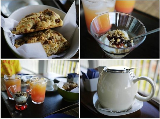 Two Sandals by the Sea Inn - Bed & Breakfast : breakfast