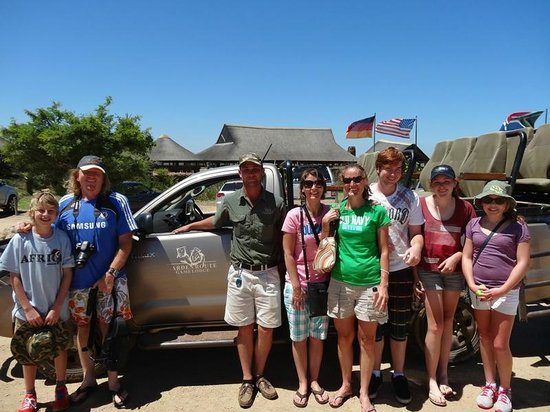 Garden Route Game Lodge: Family with Ashley, our guide