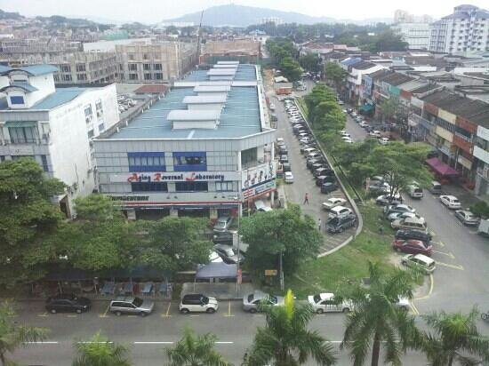 My Home Hotel - Sri Petaling: view from room 601