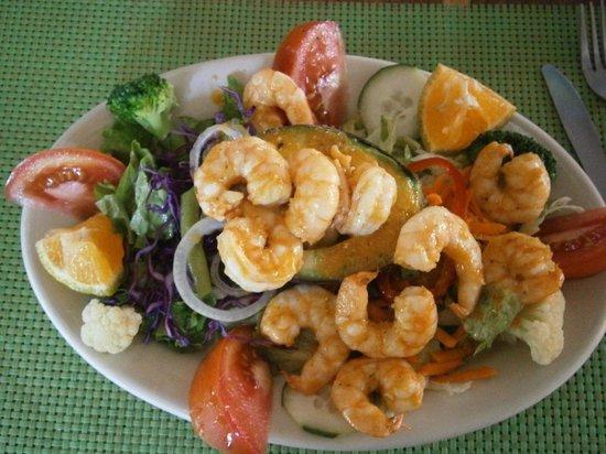 Chao's Paradise : Shrimp and avocado salad