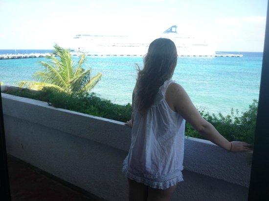 Safari Inn: View from balcony