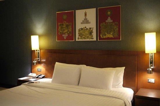 Novotel Bangkok Suvarnabhumi Airport: Comfortable bed